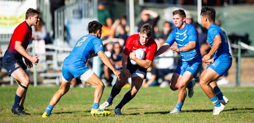 Arizona and UCLA will play later, but they did face off in 7s in the fall. David Barpal photo.