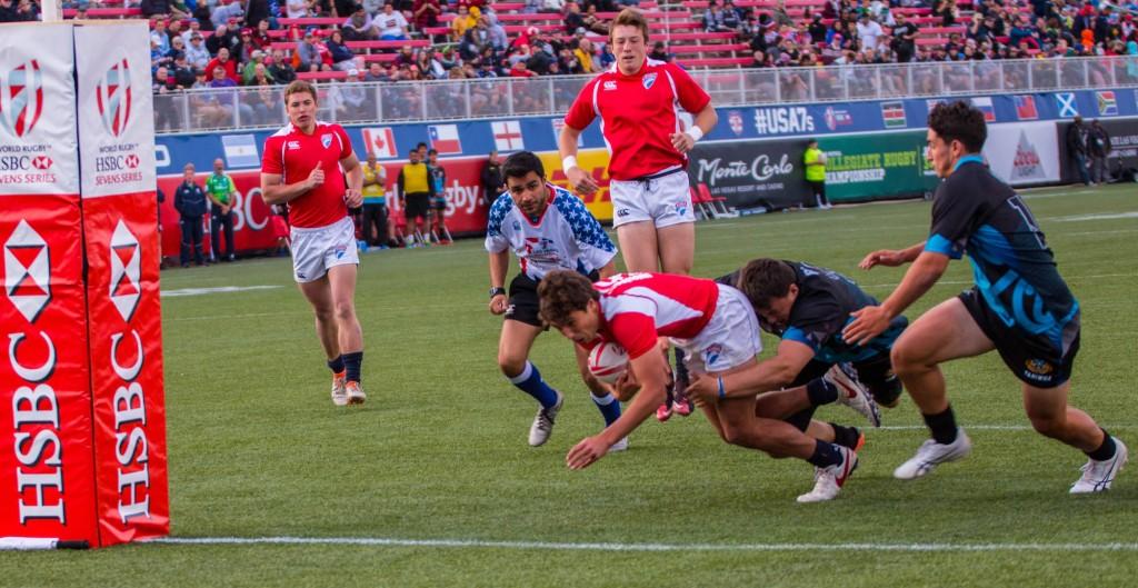 Eagle Impact Rugby Academy U18s Win 2017 LVI. Allison Bradfield photo.