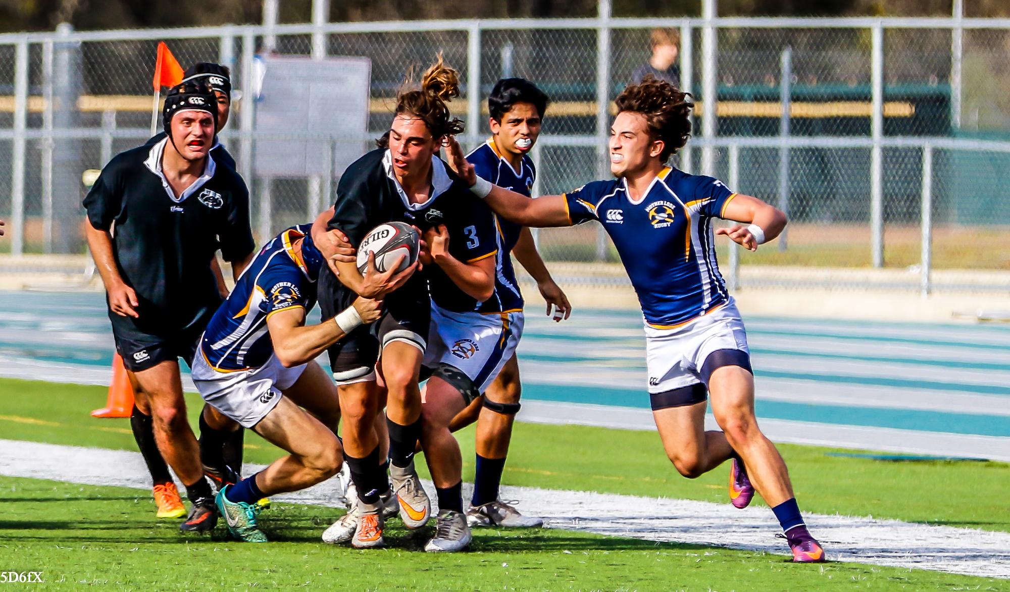 Granite Bay rugby v Mother Lode March 11, 2017. Dan Bandoni photo.