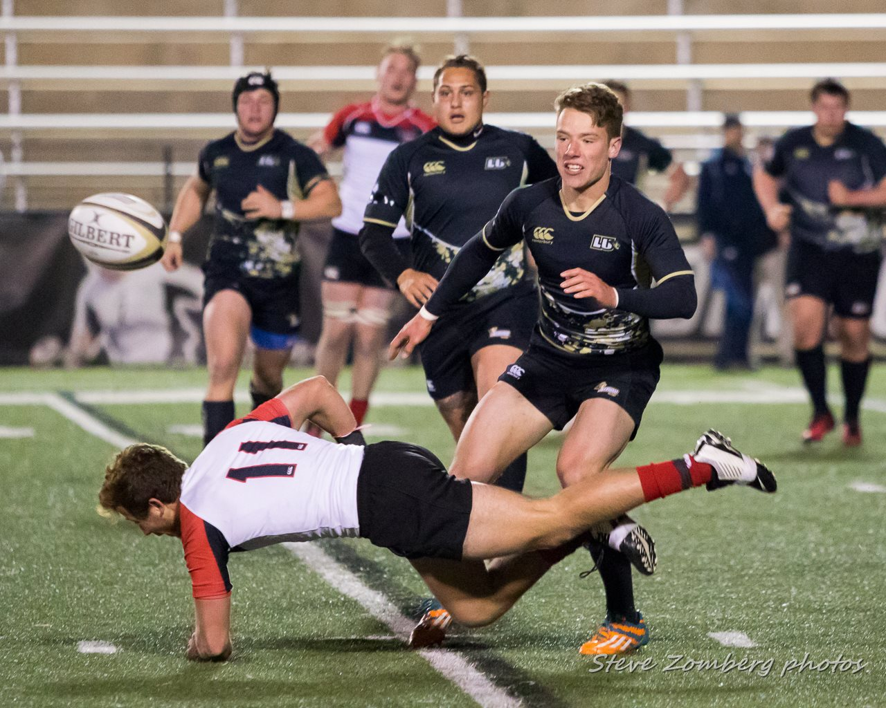 Lindenwood v Davenport Labry Shield rugby game March 11 2017. Steven Zomberg photo.