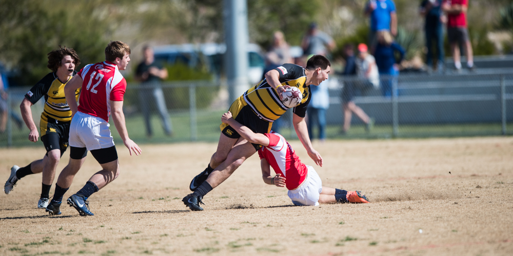 Boys Elite 7s at the 2017 Las Vegas Invitational rugby tournament. David Barpal photo for Goff Rugby Report.