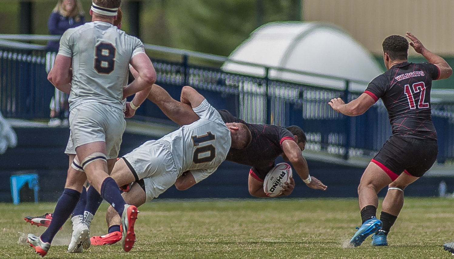 Navy v CWU rugby April 15 2017. Colleen McCloskey photo for Goff Rugby Report.