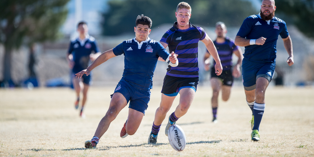 New England College rugby competes at the 2017 Las Vegas Invitational. David Barpal photo for Goff Rugby Report.