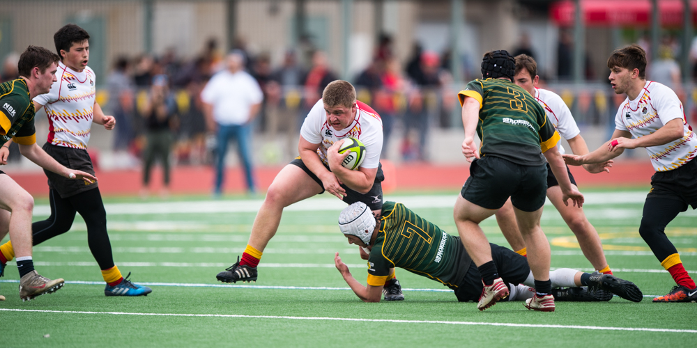 Jesuit rugby v SFGG March 25 2017. David Barpal photo for Goff Rugby Report.