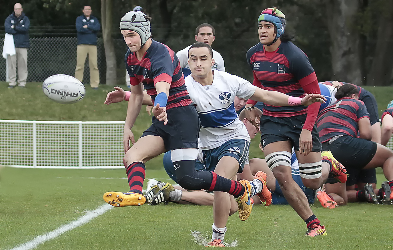 Saint Mary's rugby v BYU Feb 18, 2017. Michael Geib photos.