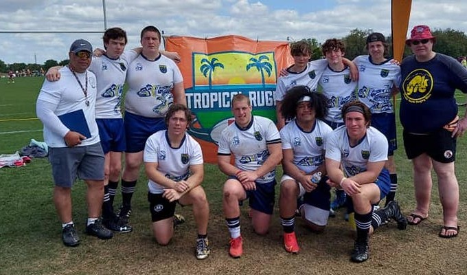 The Alaska U18 Boys at the Tropical 7s.