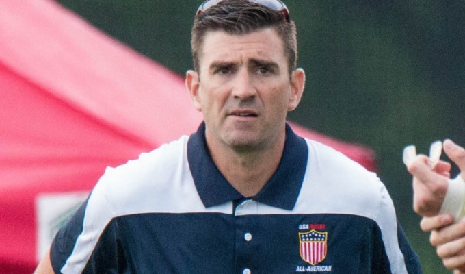 Brendan Keane has gone from HS All American Coach to heading up USA Rugby's pathways. Allison Bradfield photo.