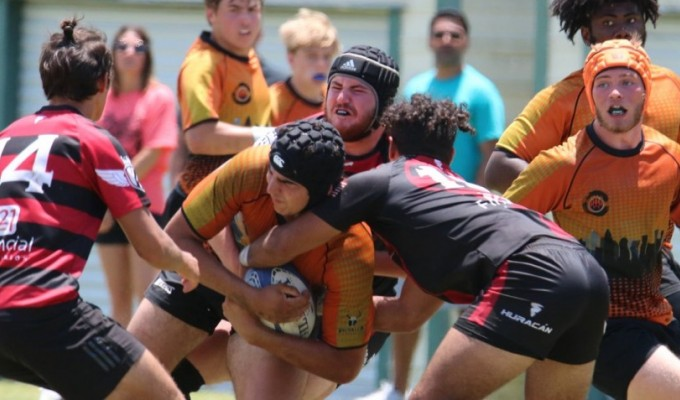 Charlotte Tigers consolidated their #1 ranking. Photo Charlotte Tigers Rugby.