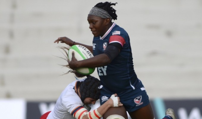 Cheta Emba and the USA Women look to improve this week. Photo FER.