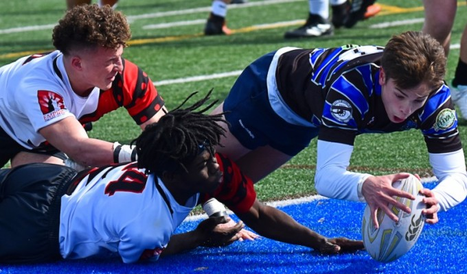 Fort Hunt was one of the few high-ranked teams in action. David Hughes photo.