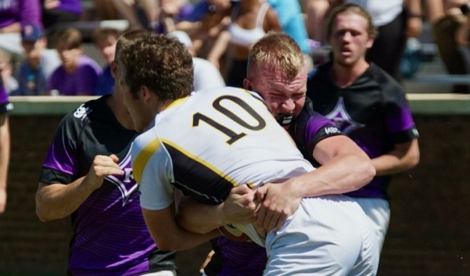 Furman's defense keep them at #1. Buster Kennett photo.