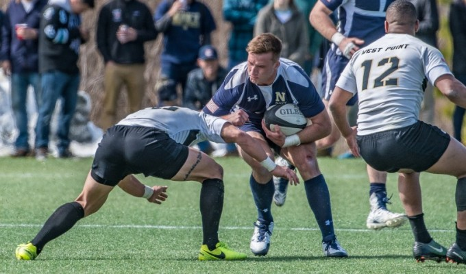 Army and Navy have a storied rivalry. Colleen McCloskey photo.