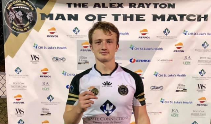 Hyrum Meyers was the Alex Rayton Man of the Match for Woodlands.