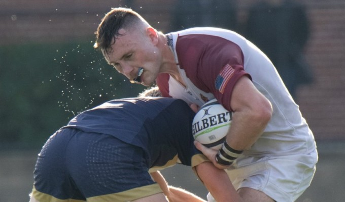 Iona vs Notre Dame from 2019. Iona College Rugby.