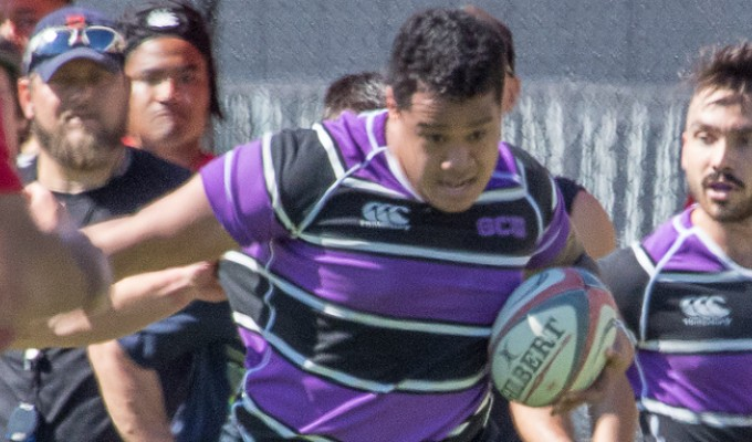 Lincolnl Si'i in action for GCU. Jeff Dalton photo.