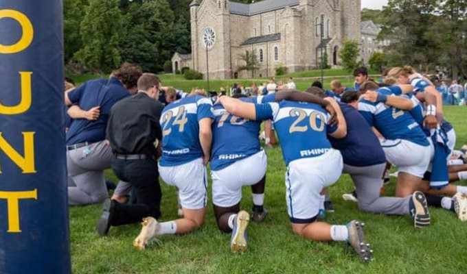 Mount St. Mary's pitched a shutout last weekend.