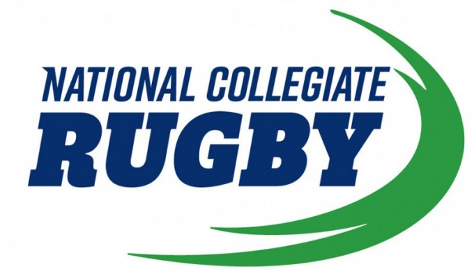 National Collegiate Rugby Logo.