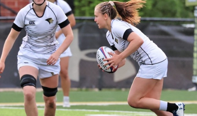 Richelle Stephens in action for Lindenwood. Todd Lunow photo.
