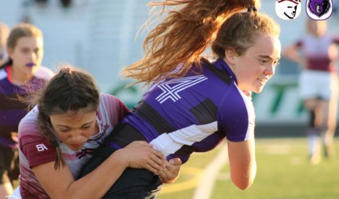 Action from Wednesday night's girls 7s in Idaho. Amy Morrison photo