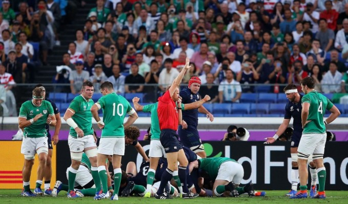 Action from the 2019 Rugby World Cup. Warren Little Getty Images For World Rugby.