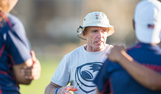 Head Coach Salty Thompson has some work to do to get his team ready. David Barpal photo.