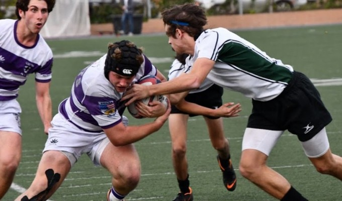 Saint Augustine is in the final again. Photo courtesy Saint Augustine Rugby.
