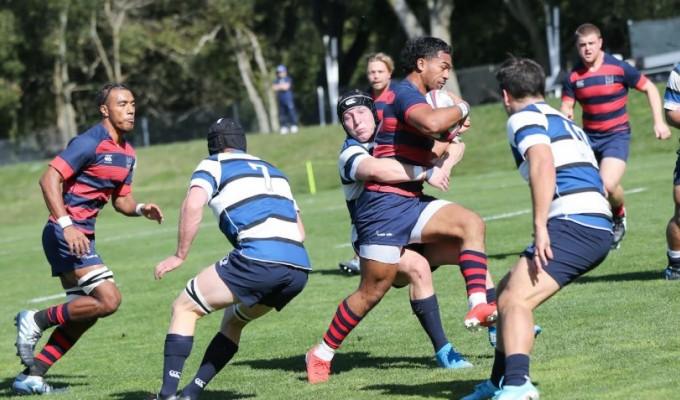 Saint Mary's vs BYU. Photo courtesy Saint Mary's Rugby.