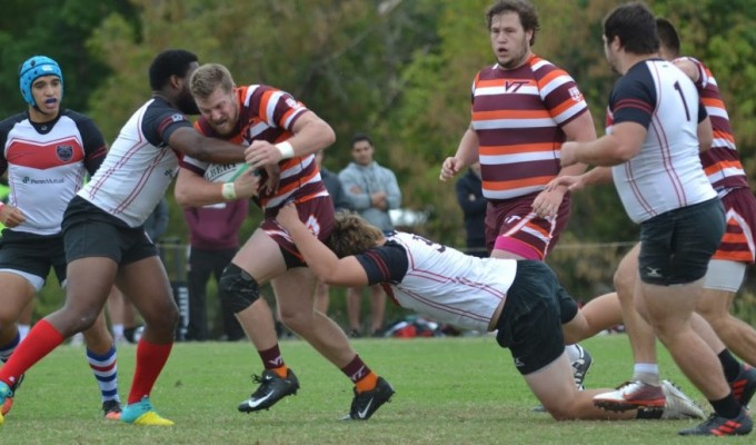 Photo courtesy Virginia Tech rugby.