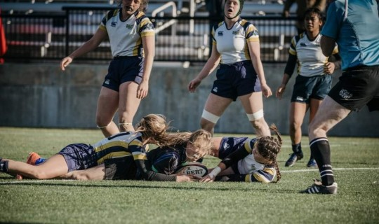 Navy and Air Force play, but not each other. Kirstyn Paynter photo.
