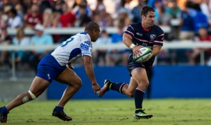 Seamus Kelly in action for the USA against Samoa in 2015. David Barpal photo.