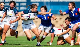 USA vs France from the 2019 Super Series. David Barpal photo.