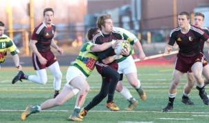 2015 Ankeny Hawks in action. Photo Iowa Youth Rugby.