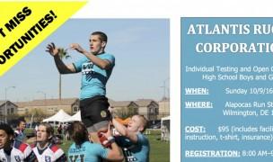 Atlantis HS 7s Camp This Weekend