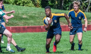 Bradley Mayekiso for Principia. Photo Principia College Athletics.