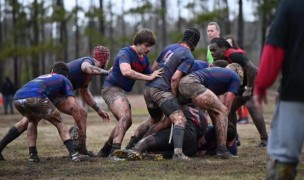 Bixby looked very good last week in the mud. Photo Bixby Rugby.