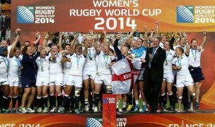 Smith coached England to the 2014 Women's Rugby World Cup title. Photo World Rugby.