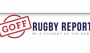 Goff Rugby Report keeps working for you.