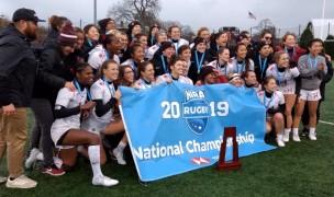 The 2019 Women's D1 NCAA champs, Harvard. Alex Goff photo.