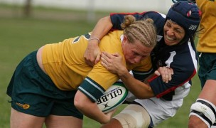 Health Hale makes a tackle against Australia in the 2006 Rugby World Cup. Photo World Rugby.