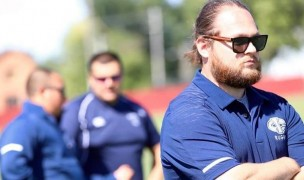 Jake Mizell has been the forwards coach at Iowa Central and will reportedly take the head job at Arkansas State.