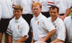 Kevin Higgins with the USA 7s team in Hong Kong in 1991. Photo Emil Signes.