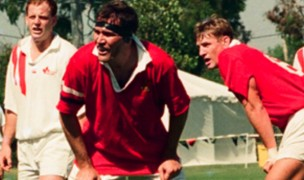 Kevin Swords against Canada. Photo US Rugby Hall of Fame.