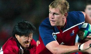 Schubert had a massive game against Japan in 2003. Photo Getty Images for Rugby World Cup.