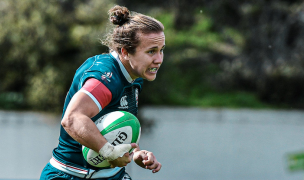 Kristi Kirshe logged four tries on Day One.