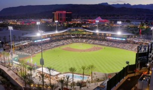 Las Vegas Ballpark, the site of the MLR weekend.