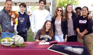 Laura Beth Baker signs with Lindenwood.