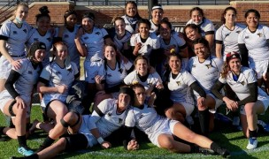 The Lindenwood team post-match.