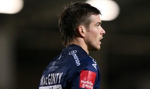 AJ MacGinty exploded for 32 points for the Sharks. Photo Sale Sharks.