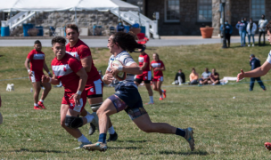 Mount St. Mary's beat Southern Virginia. Photo Mike Miller for MSM Rugby.