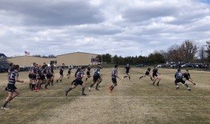 Navy vs Arkansas State at the Prusmack Rugby Center.